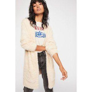 🎁 Free People Faux Fur Cardigan